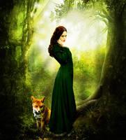 fox-girl by Leviatha87