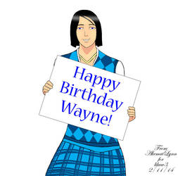 Happy Birthday Wayne by Akemat-Lynn