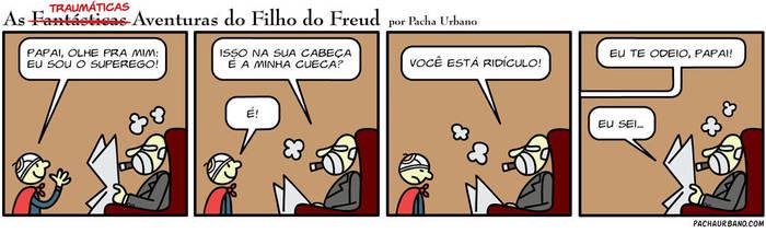 THE FREUD'S SON COMICS by pacha-urbano
