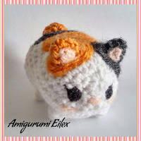 Fat cat by AmigurumiEilex