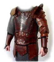leather armor Dragon by baehrserker