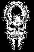 skull design by ayillustrations