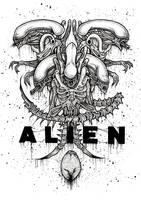 Alien by ayillustrations