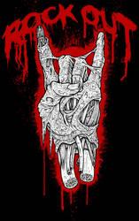 red dead devil horns by ayillustrations