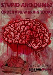 Brain by ayillustrations