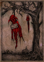 demon lynching by ayillustrations