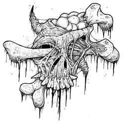 Boneface by ayillustrations