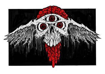 Skul Crest by ayillustrations