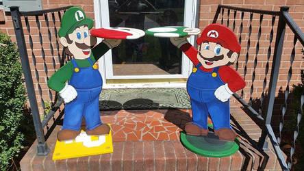 Mario and Luigi by ChupaCabraThing
