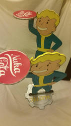 Vault Boy Right by ChupaCabraThing