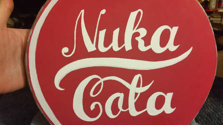 Nuka Cola TableTop top view by ChupaCabraThing