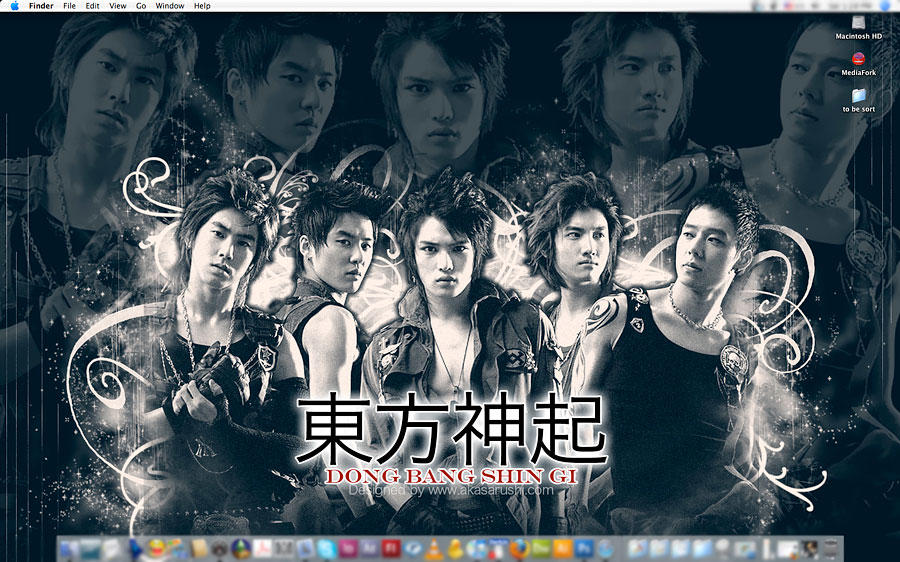 DBSK new wallpaper by Akasarushi