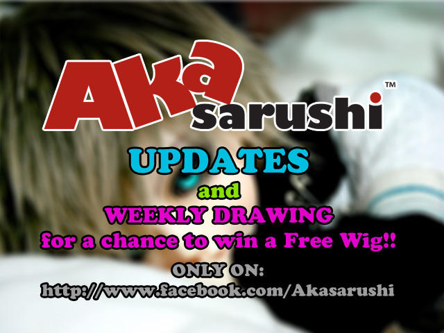 FREE WIG GIVEAWAY PROJECT! by Akasarushi