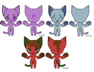 Berry Cute Adopts by kytekitty