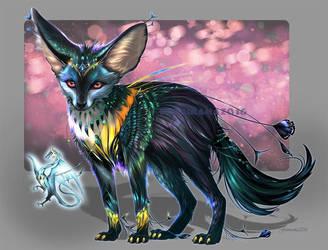 Dragon Fox by Furrirama