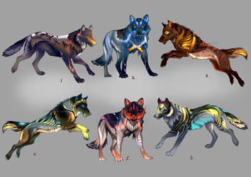 Wolfpack Adopts2 (closed) by Furrirama