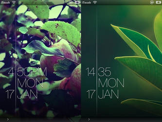 Blink - iOS LockScreen by rhyguy