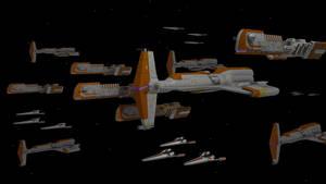 Star Wars - Old Republic Battle by Schnellchecker