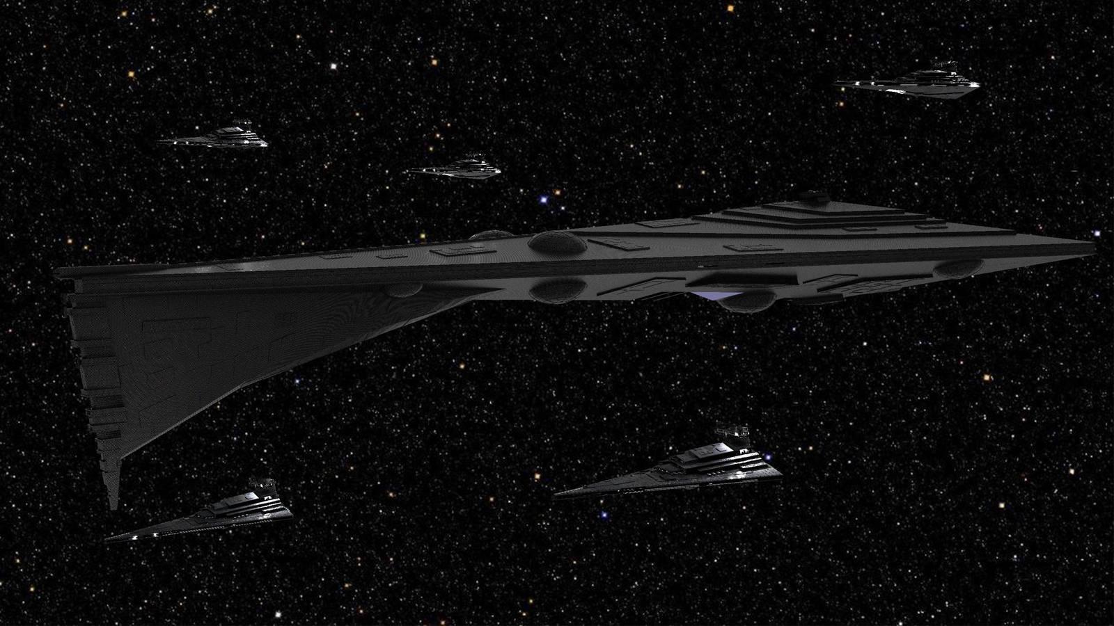 Star Wars - Eclipse Super Star Destroyer by Schnellchecker
