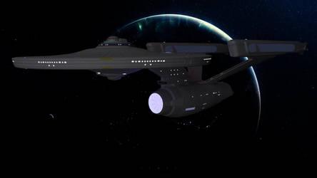 U.S.S. Enterprise by Schnellchecker