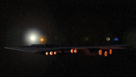 Approaching Tatooine by Schnellchecker