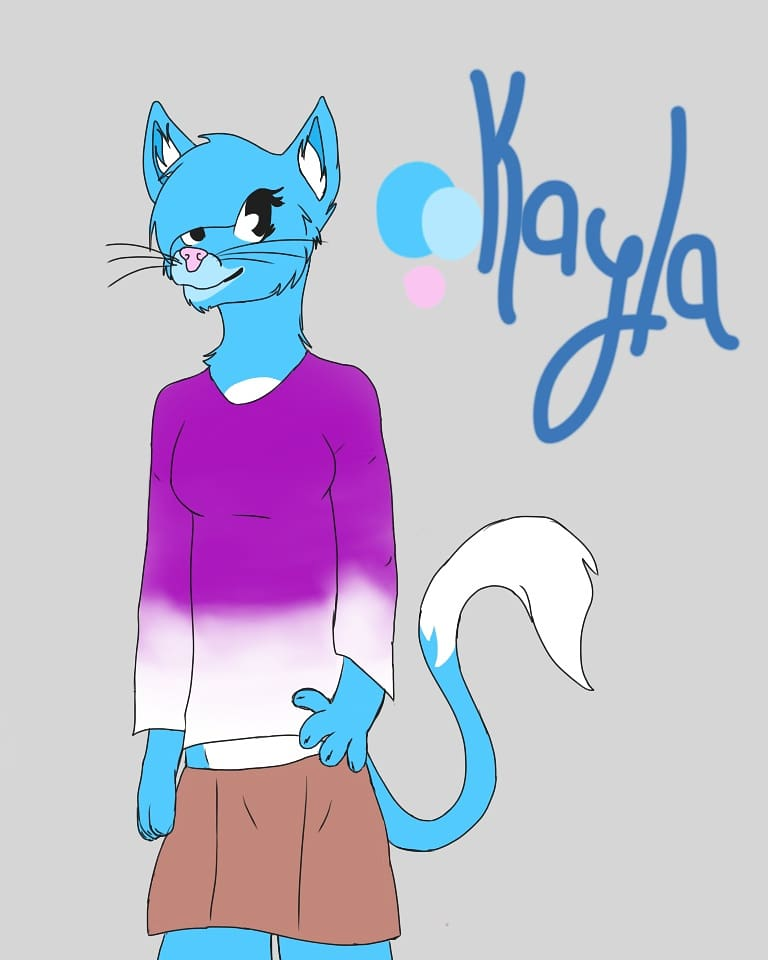 Kayla re-draw and design. by ArtisticFangirl7