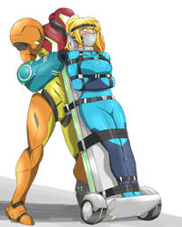 Samus' transport mission by Ryner-E