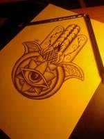 Hand Of Fatima by WriterLols89