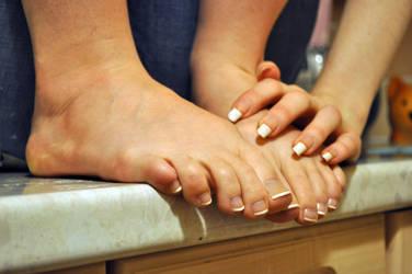 Close up Cute Feet by Foxy-Feet