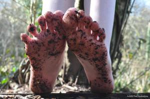 Filthy Soles by Foxy-Feet
