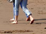 Candid Beach Feet Three by Foxy-Feet
