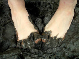 Sticky Mud Toes by Foxy-Feet