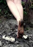 Sticky Muddy Soles by Foxy-Feet