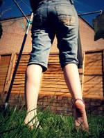 Barefoot Laundry by Foxy-Feet