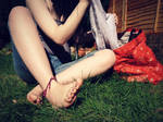 Lovely Laundry Girl by Foxy-Feet