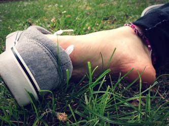 Showing Skin by Foxy-Feet