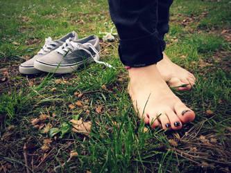 Keep On Walking by Foxy-Feet