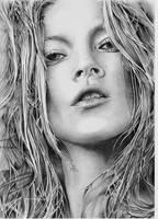 Kate Moss by AZIZA-FEMI