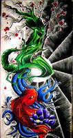 Japanese Piece 2 by AZIZA-FEMI