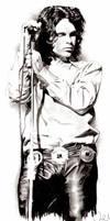 Jim Morrison by AZIZA-FEMI