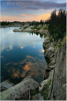 Wasatch Sunset by tourofnature