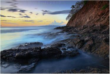 Costa Rican Shoreline by tourofnature