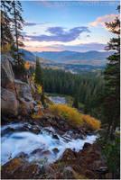 Canyon Cascade by tourofnature