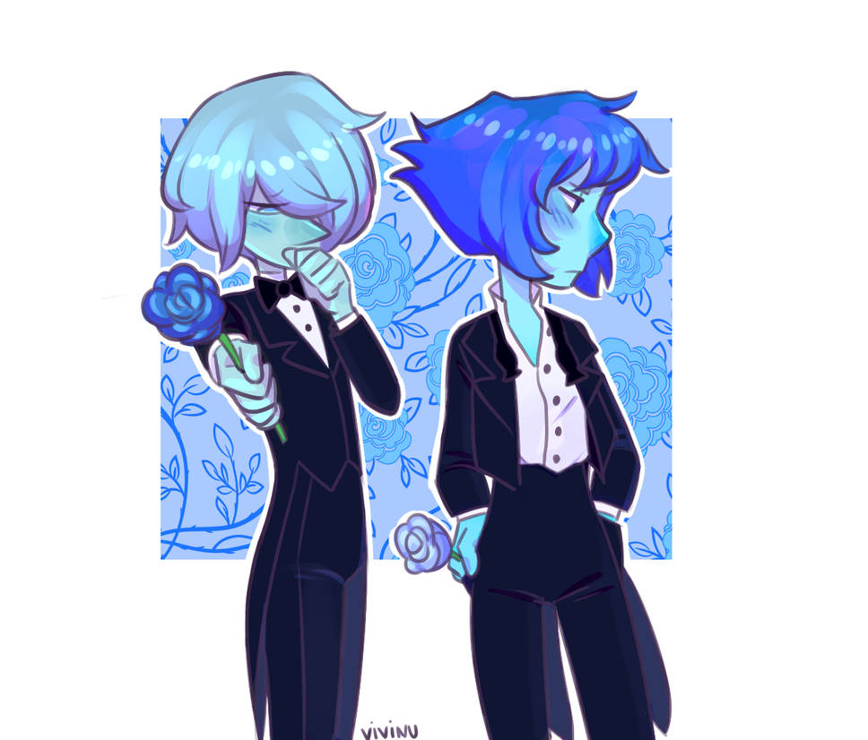 Ehh... I'm 50/50 w this... idk how to colour Lapis's hair lmao