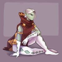 A Ghirahim by Arkay9