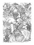Wolverines vs Sabretooth :-) by florencuevas