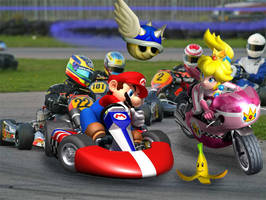 Mario Kart Real by FJOJR
