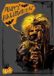 SCRAWL - HAPPY Halloween 2012 !!! by agathexu