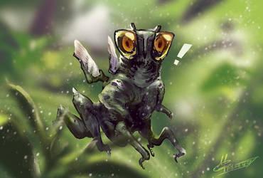 mantis monster by agathexu