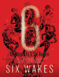 sixwakes novel illustration by agathexu